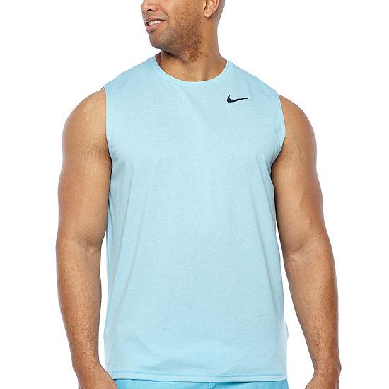Nike-Big Mens Crew Neck Sleeveless T-Shirt