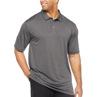 PGA TOUR Mens Short Sleeve Polo Shirt Big and Tall