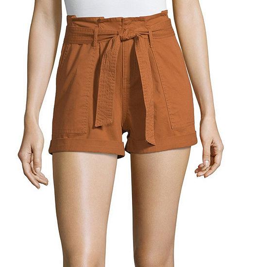 Vanilla Star Womens High Waisted Shorts- Juniors
