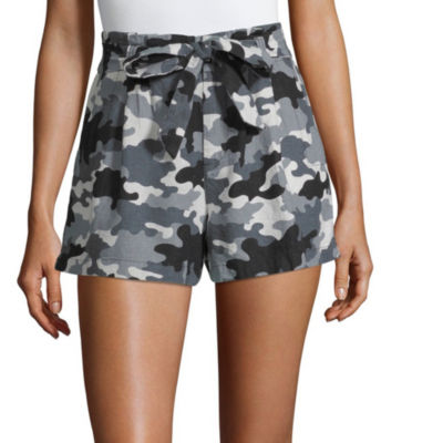 Bebop Womens Low Rise Pull-On Short-Juniors