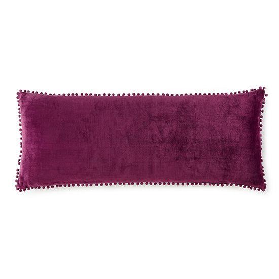 Home Expressions Pom Pom Body Pillow