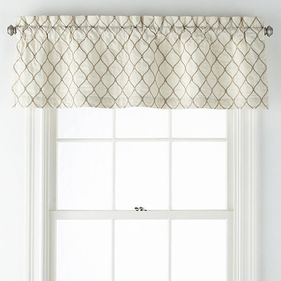Jcpenney Home Carissa Rod Pocket Tailored Valance