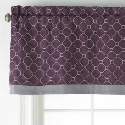 JCPenney Home Bozeman Rod-Pocket Tailored Valance