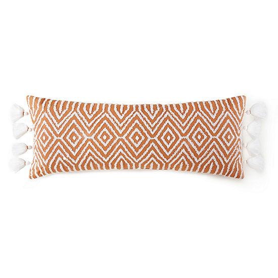 JCPenney Home Riley Rectangular Throw Pillow