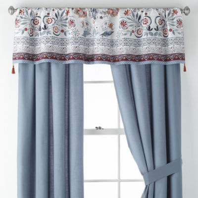 JCPenney Home Caravan Rod-Pocket Curtain Panel