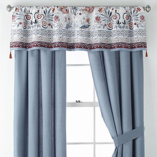 JCPenney Home Caravan Rod-Pocket Curtain Panel