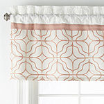 JCPenney Home Trellis Rod-Pocket Tailored Valance