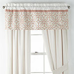 JCPenney Home Trellis Rod-Pocket Curtain Panel