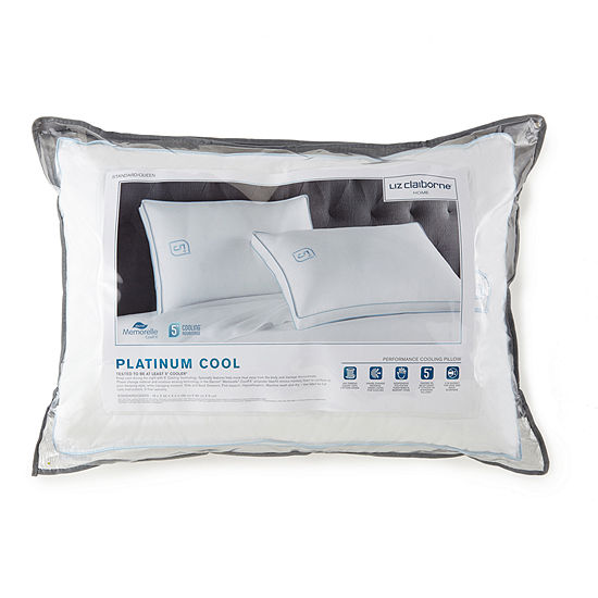 Liz Claiborne Platinum Cooling Down Alternative Medium Density Pillow