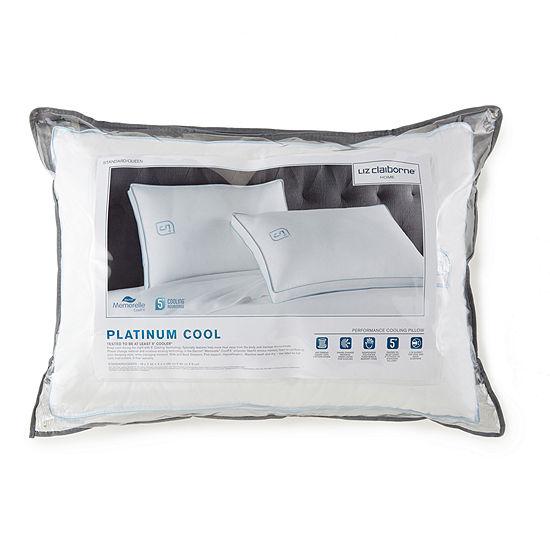 Liz Claiborne Platinum Cooling Down Alternative Medium Density Pillow