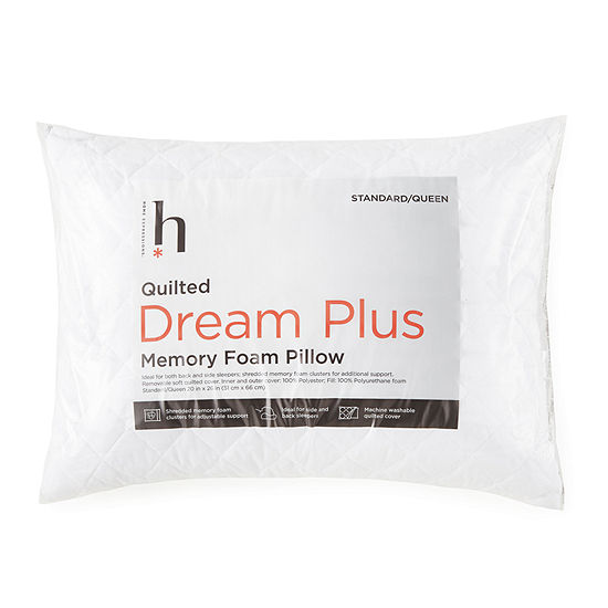 JCPenney Home Dream Plus Quilted Memory Foam Cluster Pillow