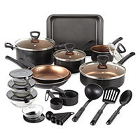 Deals on Cooks 30-pc. Nonstick Cookware Set