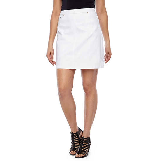 Hearts Of Palm Essentials Womens High Waisted Skort