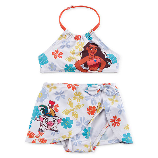d24ce0fe95482 Disney Girls Moana 2-Piece Swim Set - JCPenney
