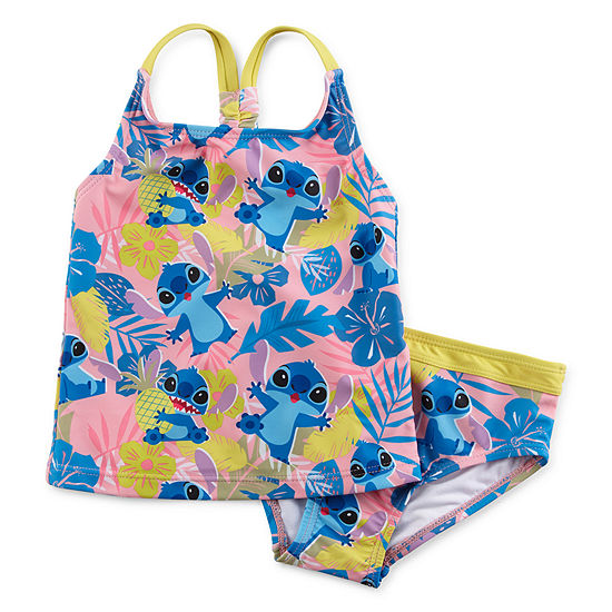 Disney Stitch Tankini Set - Girls