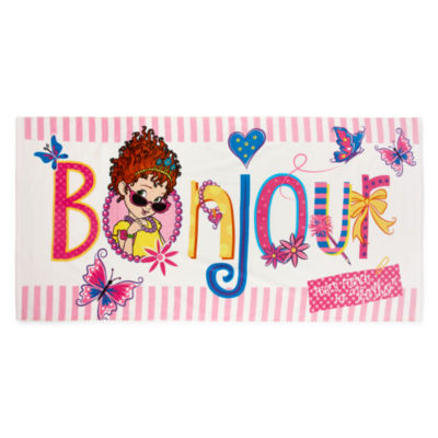 "Disney 29"" X 59"" Fancy Nancy Beach Towel"