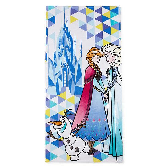 "Disney 29"" X 59"" Frozen Beach Towel"