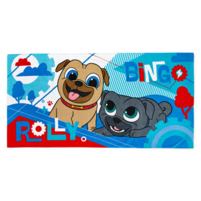 "Disney 29"" X 59"" Puppy Dog Pals Beach Towel"