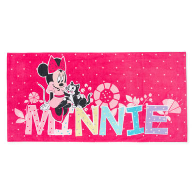 "Disney 29"" X 59"" Minnie Mouse Beach Towel"
