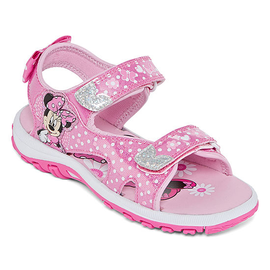 Disney Minnie Mouse Toddler Girls Strap Sandals