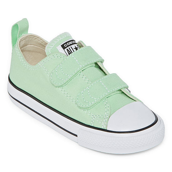 Converse Seasonal Color Toddler Girls Hook and Loop Sneakers