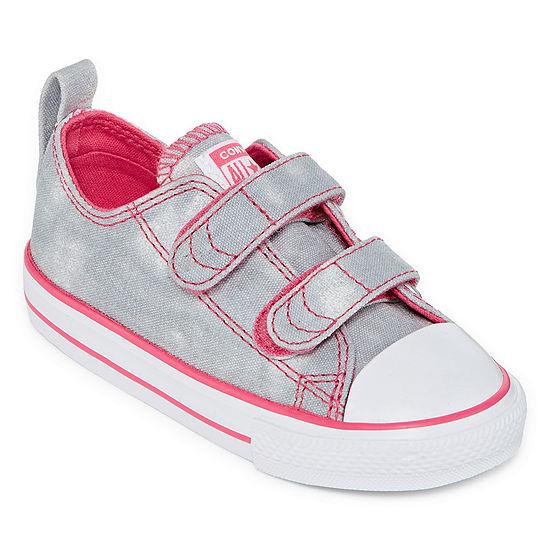 Converse Toddler Girls Hook and Loop Sneakers