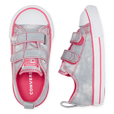 Converse Toddler Girls Hook and Loop Sneakers