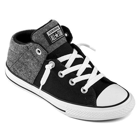 Converse Axel Mid Little/Big Kid Boys Slip-on Sneakers