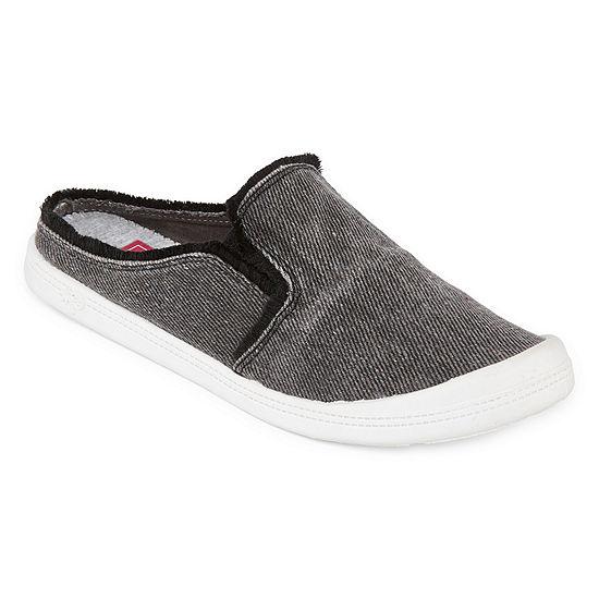 Pop Womens Vibration Closed Toe Slip-On Shoe