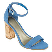 38972fb9a579 Worthington Womens Beckwith Heeled Sandals