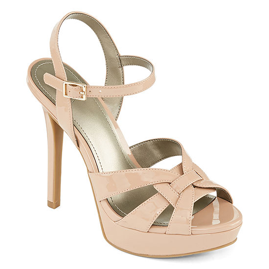 Worthington Womens Knight Heeled Sandals