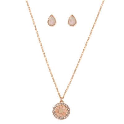 Worthington Womens Pendant Necklace