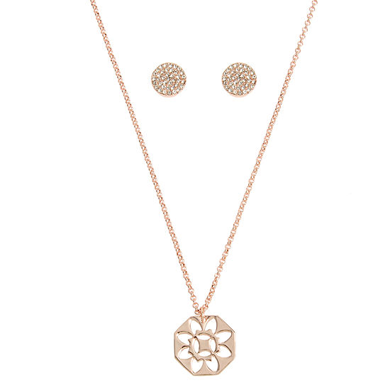 Worthington 5-pc. 17 Inch Link Pendant Necklace