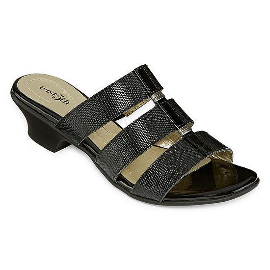 East 5th Womens Elda Heeled Sandals