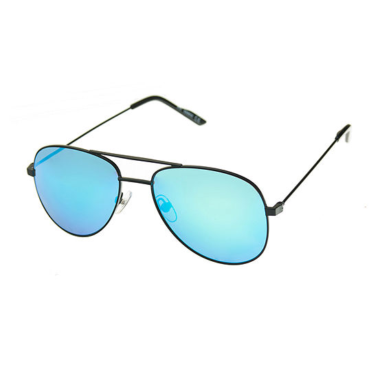 Arizona Womens Junior Full Frame Aviator UV Protection Sunglasses