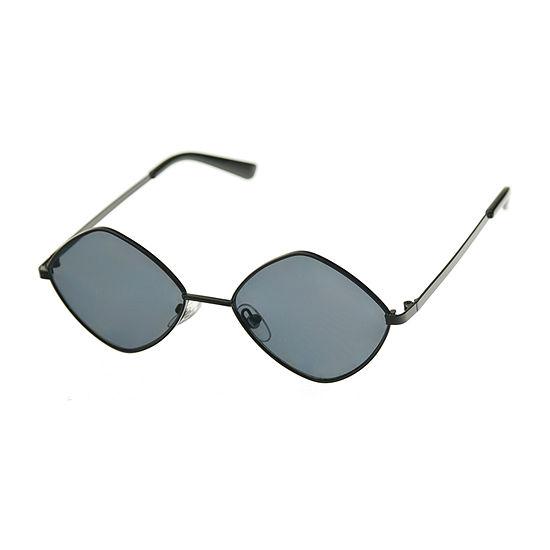 Arizona Womens Junior Full Frame Square UV Protection Sunglasses