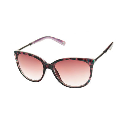 Nicole By Nicole Miller Womens Full Frame Cat Eye UV Protection Sunglasses