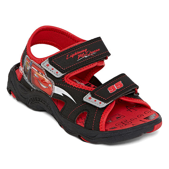 Disney Collection Toddler Boys Cars Strap Sandals