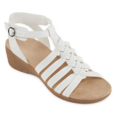 Yuu Womens Hilly Strap Sandals Wide Width