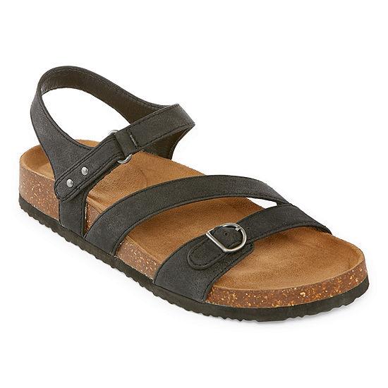 Yuu Yuuphebe Womens Ankle Strap Footbed Sandals