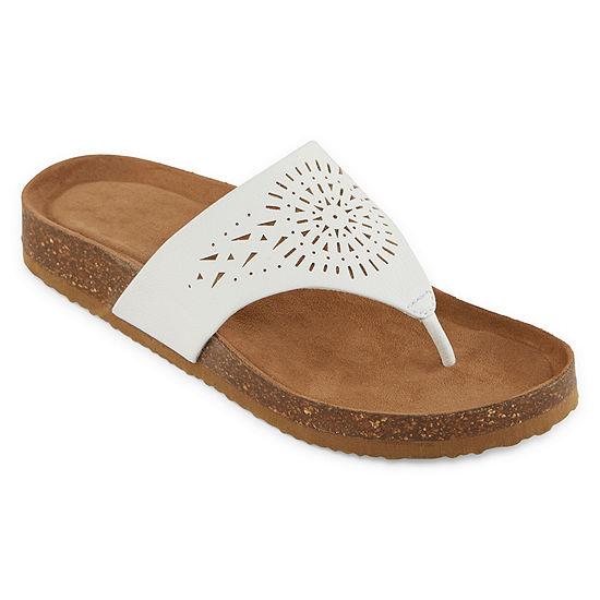Yuu Philis Womens Footbed Sandals