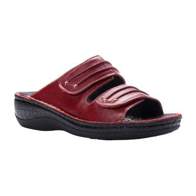 Propet Womens June Slide Sandals