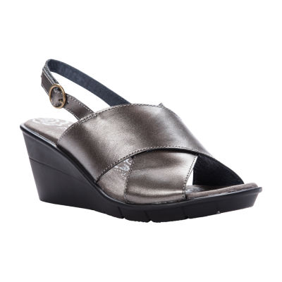 Propet Womens Luna Wedge Sandals