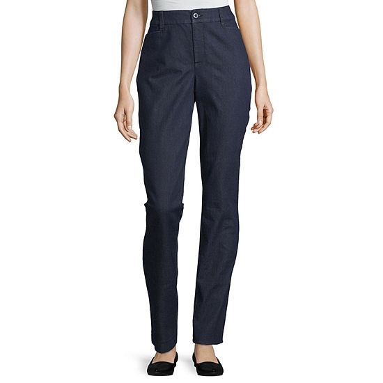 St. John's Bay - Tall Womens Stretch Straight Leg Jean