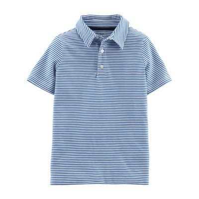 Carter's Boys Spread Collar Short Sleeve Polo Shirt Preschool / Big Kid