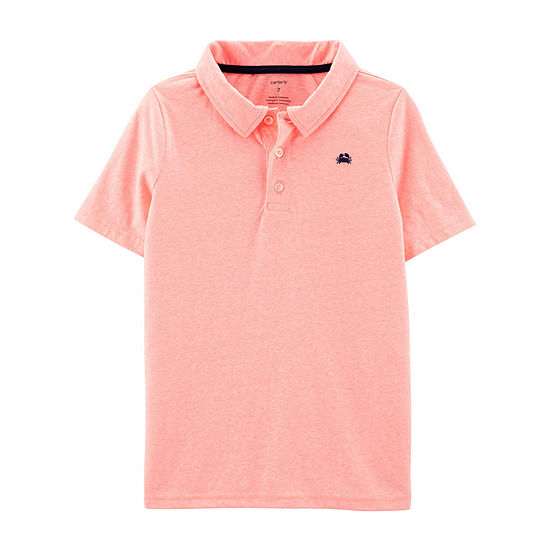 Carter's Boys Spread Collar Short Sleeve Polo Shirt Preschool / Big Kid