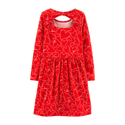 Carter's Long Sleeve A-Line Dress Girls
