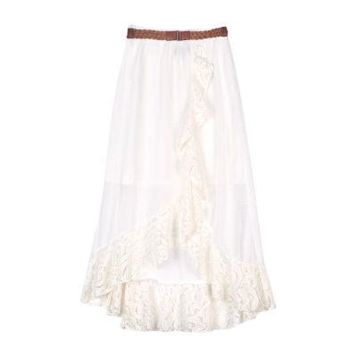 by&by girl High Low Maxi Skirt - Big Kid Girls