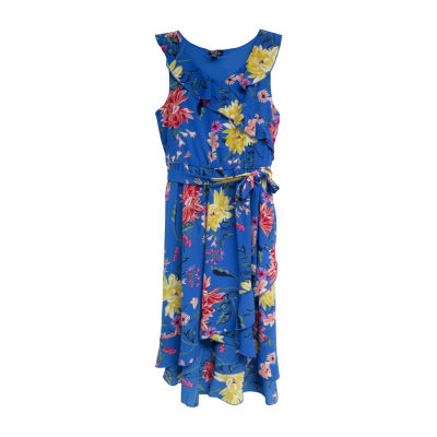Lilt Sleeveless Floral Maxi Dress - Big Kid Girls