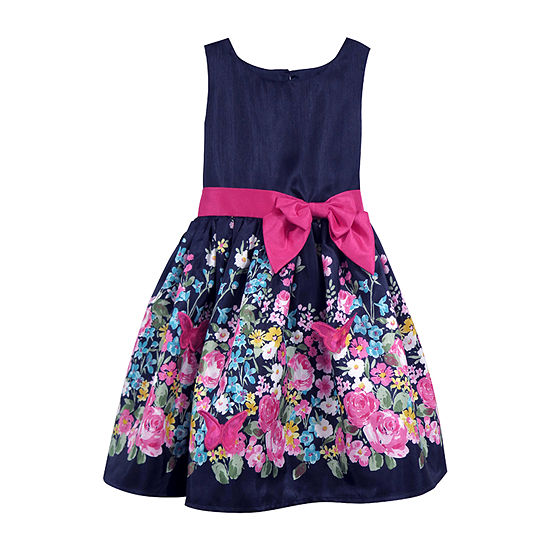 Lilt Girls Sleeveless Party Dress